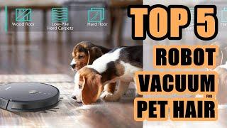 Best Robot Vacuum Cleaner for Pet Hair 2020 | Top 5 Robot Vacuum Cleaners 2020