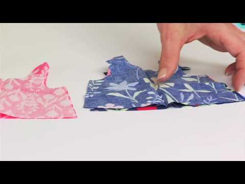Making a Doll Jumper Dress with Sizzix and Kerry Goulder