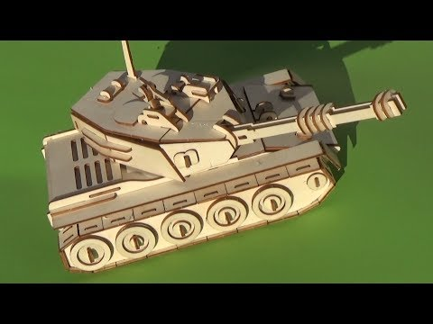 Como fabricar un mini tanque de guerra