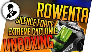 Rowenta SILENCE FORCE EXTREME CYCLONIC ECO RO 8252 Unboxing & Hands-On German Deutsch HD