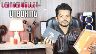 অরজিনাল লেদারের ওয়ালেট কিনুন | original leather wallet in bangladesh | leather wallet unboxing