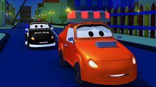 Police car for kids -  Amber's Siren - Car Patrol in Car City !