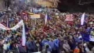 preview picture of video 'Břeclav 1989 - sametová revoluce 2.část'