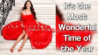Lea Michele - It's the Most Wonderful Time of the Year (lyrics)