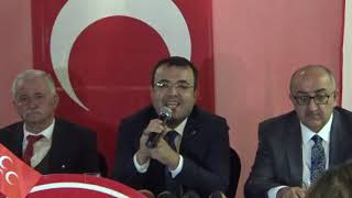 MHP Talas Belediye başkan Aday adayı Mustafa Arslantas