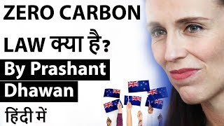 New Zealand's ZERO CARBON LAW क्या है? Current Affairs 2019