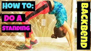 How To Do a Standing Backbend (for beginners)