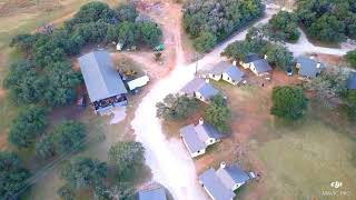 Drone footage with Mavic Pro( Beautiful Cabins In Fredericksburg, TX)
