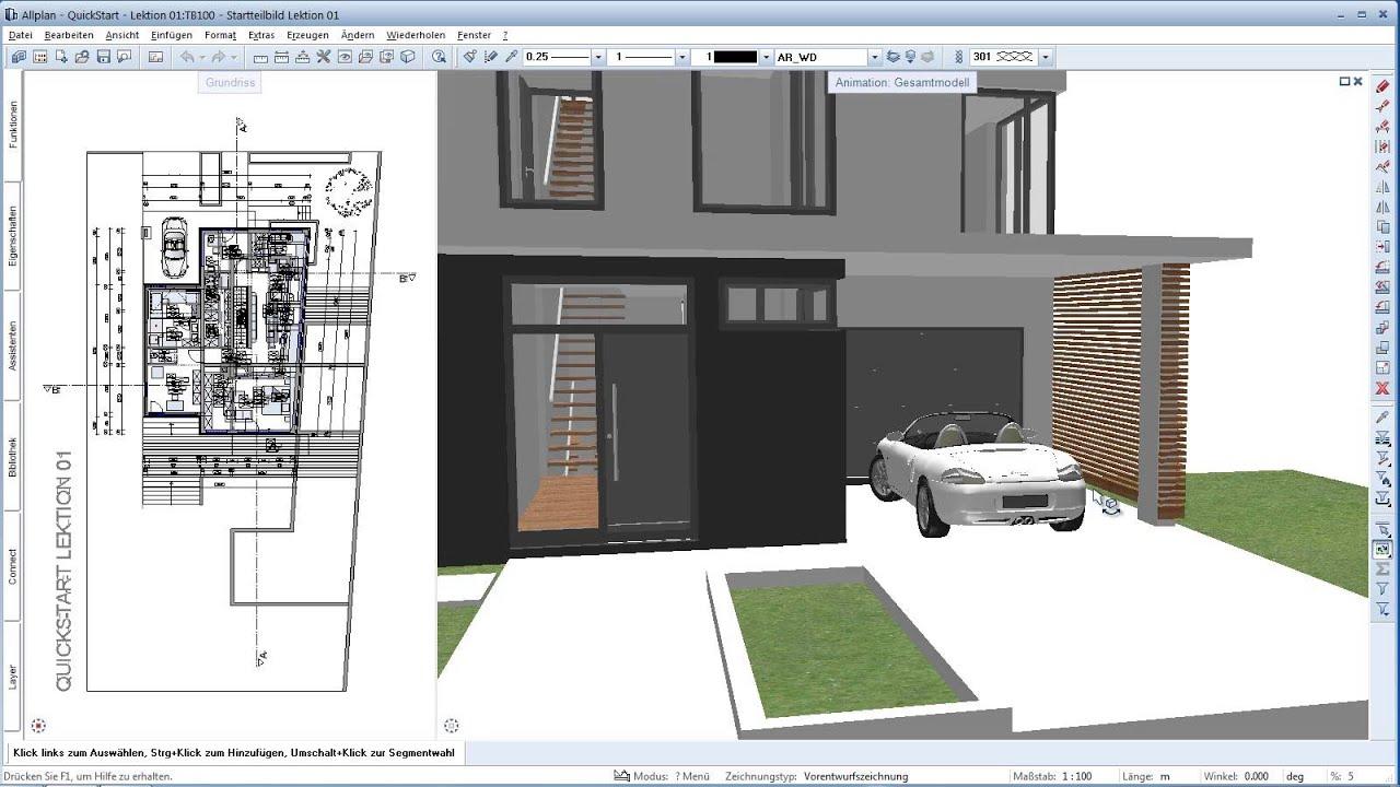 allplan architektur. Black Bedroom Furniture Sets. Home Design Ideas