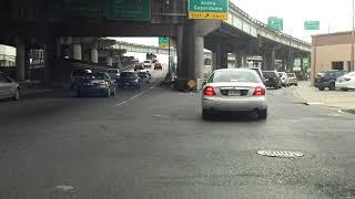 Mercedes-Benz Superdome Parking Garage Entrance - New Orleans, LA