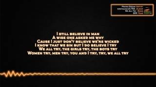 Frank Ocean - We All Try [Lyrics]