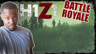 Battle Royale H1Z1 Gameplay - NIGHT VISION NERVES | H1Z1 BR Gameplay