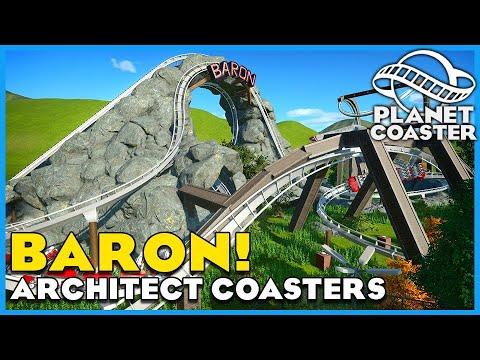 Baron, The Power Plant, & The Blueprint! Planet Coaster: Coaster Spotlight 712