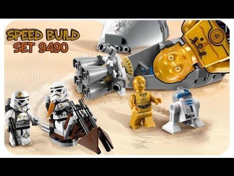 Vidéo LEGO Star Wars 9490 : La fuite des droïdes