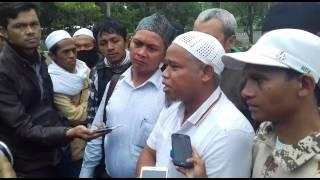 FPI Bogor Raya Datangi Polres Bogor Untuk Meminta Penangguhan Penahanan