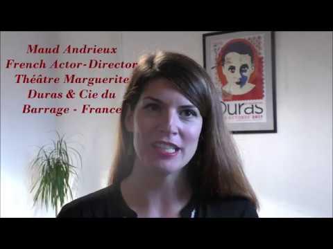 Maud Andrieux Tournée Indienne de L'amant de Marguerite Duras