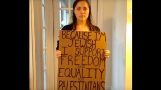 Jewish Voice for Peace: justice, equality in Israel/Palestine