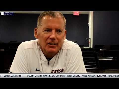 UConn Sports Nation (3rd Segment) - FULL Randy Edsall Interview (Week 1)