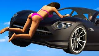 Приколы в играх WDF 6   Майкл сбивает Трейси   Смешные моменты из  GTA 5 и Dying Light