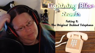 Reacting To Faking It: The Original Dubbed Telephone Ring