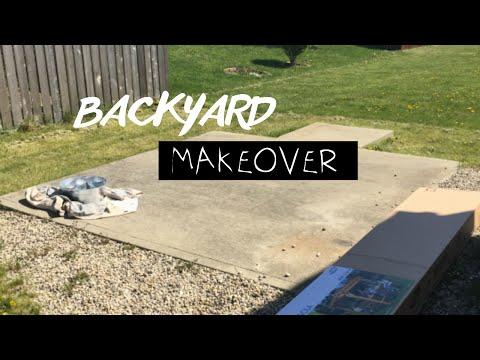 DIY: Backyard Transformation Pt. 1 of 2