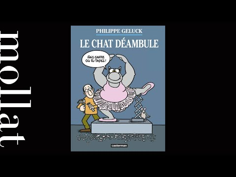 Philippe Geluck - Exposition Le Chat Déambule