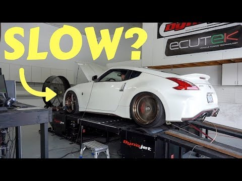 Nismo 370Z LOST This Much Power From Heavy Wheels! *SHOCKING*
