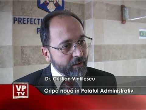 Gripă nouă în Palatul Administrativ