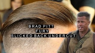 Brad Pitt Undercut видео видео