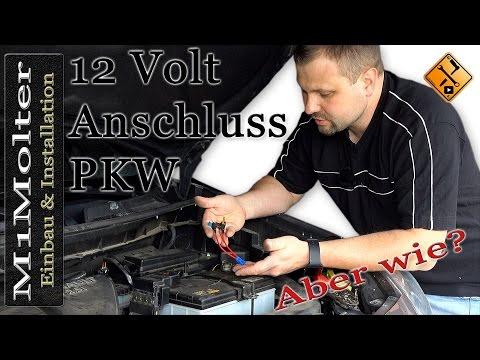 12 Volt Gerät im Kfz (Auto) anschließen wie?