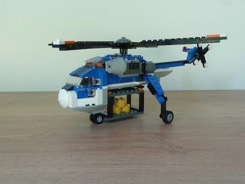 Vidéo LEGO Creator 4995 : L'hélicoptère cargo
