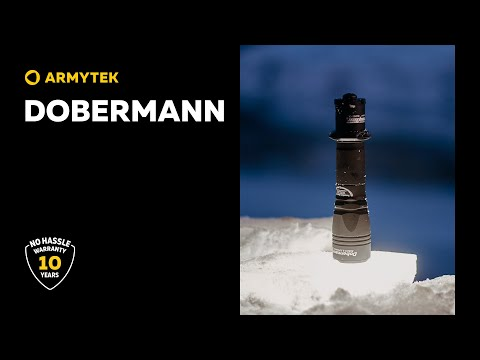 Dobermann — universal tactical flashlight 2 in 1