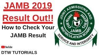 How To Check JAMB Result (JAMB 2019 Result Out!!)