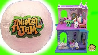 Giant Surprise Ball of Animal Jam Online Game Toys - Princess Castle + Crystal Palace Den + Codes