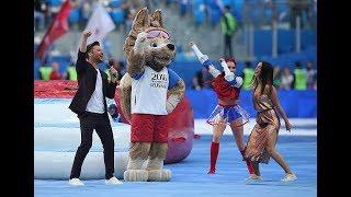 NYUSHA / Нюша и Сергей Лазарев - Церемония открытия Кубка Конфедераций - 2017, 17.06.17