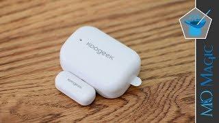 Koogeek HomeKit Door & Window Contact Sensor Helps Trigger Scenes & Provides Security