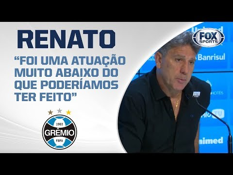 VITÓRIA EMOCIONANTE DO GRÊMIO SOBRE O CSA! Renato fala após a partida