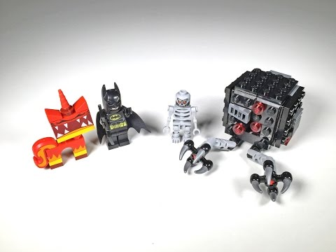 Vidéo LEGO The LEGO Movie 70817 : L'attaque de Batman et de Kitty Grrrr