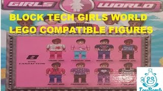 Block Tech Girls World Lego Compatible  Figures