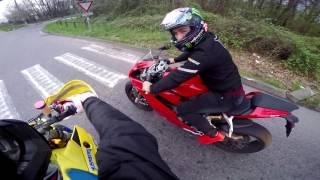 Husaberg Supermoto VS Ducati Panigale