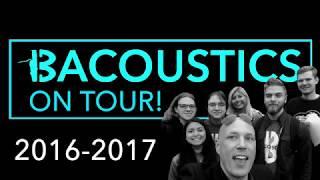 BACOUSTICS  2016-17 OutreachTour Promo