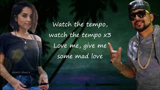 Sean Paul, David Guetta   Mad Love Ft. Becky G (lyrics)