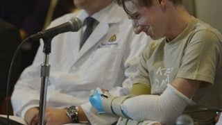 Iraq Vet Gets First Double Arm Transplant thumbnail