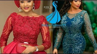 2019/2020 Fascinating And Stylish Ankara And Lace Style Ideas For Divas. African Print Collections