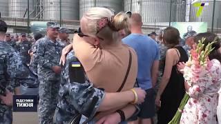 До Одеси повернулись звільнені з полону РФ військові моряки