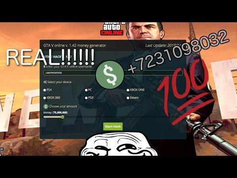 GTA V MONEY GENERATOR 100% REAL 2018!!! (joke video)