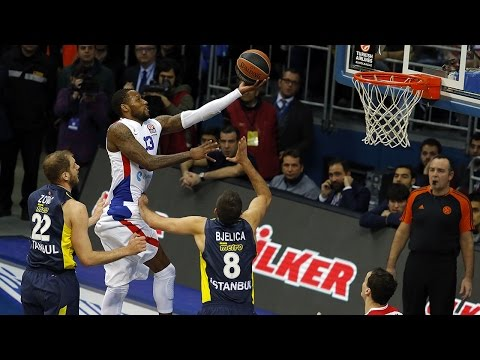 Highlights: Fenerbahce Ulker Istanbul-CSKA Moscow