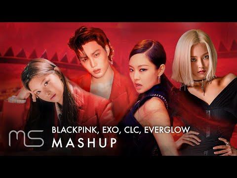 BLACKPINK/EXO/CLC/EVERGLOW – Kill This Love/Love Shot/Me(美)/Bon Bon Chocolat (ft. DDDD Remix) MASHUP