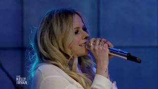 Avril Lavigne - Head Above Water @ Live with Kelly & Ryan 18/02/2019