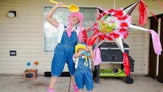 Shopkins nos Traen Piñata con Dulces y Sorpresas S2:E160
